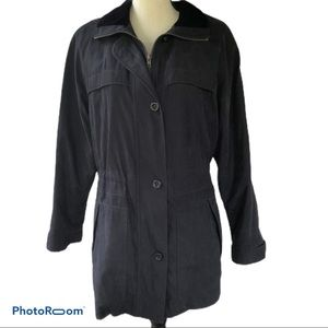 Westbound   Black Lined Coat